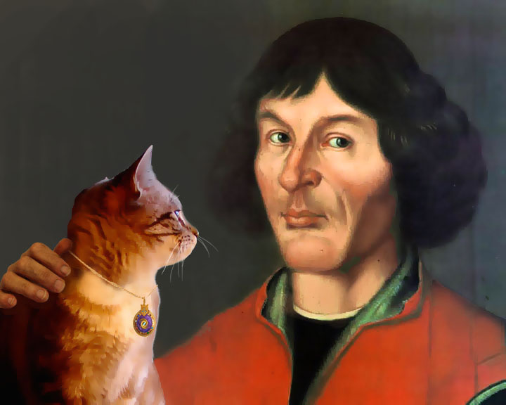 Copernicus and Giancarlo, Astro Cat – Mentor and ...