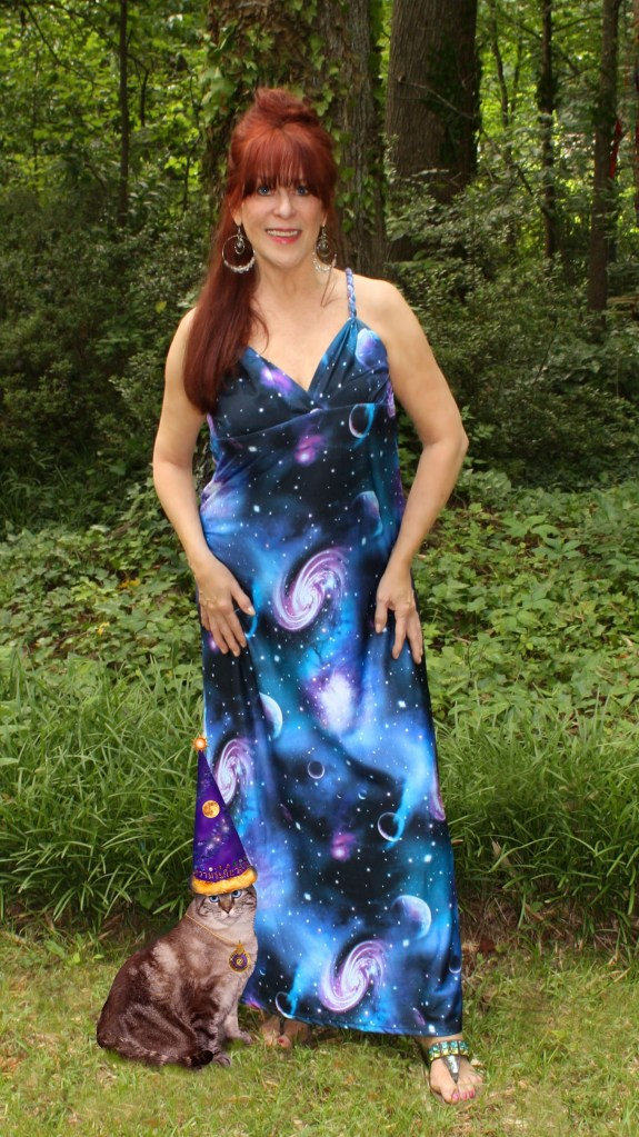 Kathleen Galaxy Dress Marble